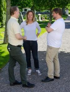 Roland, Åsa och Patrik